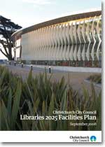 2025 Libraries Facilities Plan cover