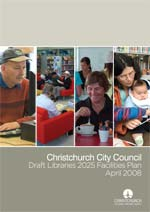 Draft Libraries 2025 Facilities Plan cover