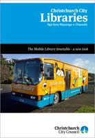 Mobile Library leaflet