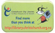 Find more than you think at library.christchurch.org.nz