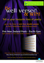 Christchurch Arts Festival Poetry Competition