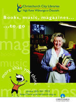 Books, Music, Magazines… to go