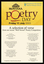 Montana Poetry Day - click here to view pdf of poster
