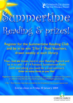 Click to view pdf of Summertime Reading Club Poster