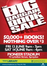 Big Bargain booksale