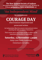 Courage day poster
