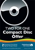 two for one Compact Disc Offer