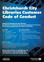 Code of Conduct flyer