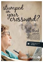 Stumped on your crossword? poster