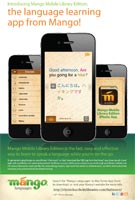Mango Languages Poster: Mobile Apps