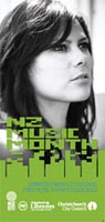 NZ Music Month brochure cover