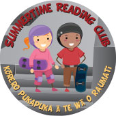 Summertime Reading Club badge