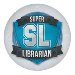 Super Librarian staff badge