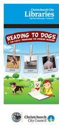 Reading to dogs term 2 brochure