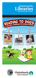 Reading to Dogs brochure
