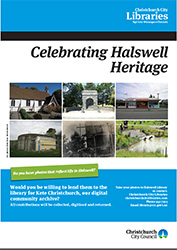 Halswell heritage poster