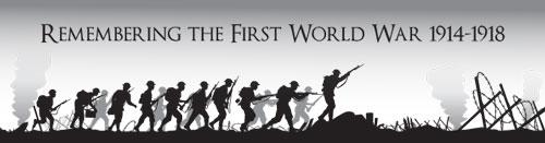 WW1 teaching resource bookmark