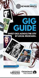 Gig guide flyer