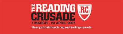 2007 Reading Crusade bookmark
