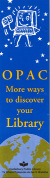 OPAC - More ways to discover your Library