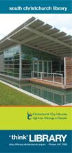 South Christchurch Library Brochure (1.3 Mb PDF)