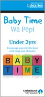 2011 Baby Time pamphlet