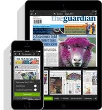 Image of PressReader app