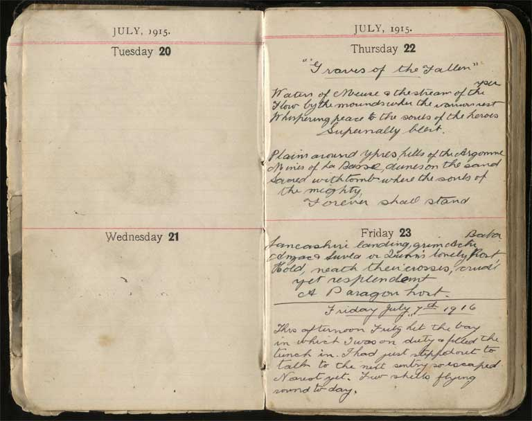 Thumbnail Image of War diary