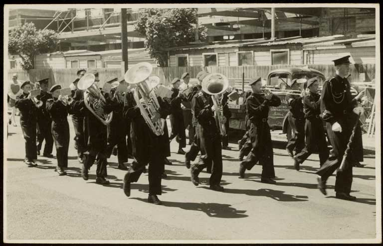 Thumbnail Image of Brass band, Hay's Ltd Christmas pageant