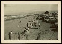 New Brighton Beach, Christchurch. [c. 1950]