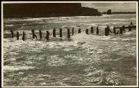 Breakwater, evening, Sumner, c. 1949