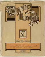 Cover of Winning through: From war to peace