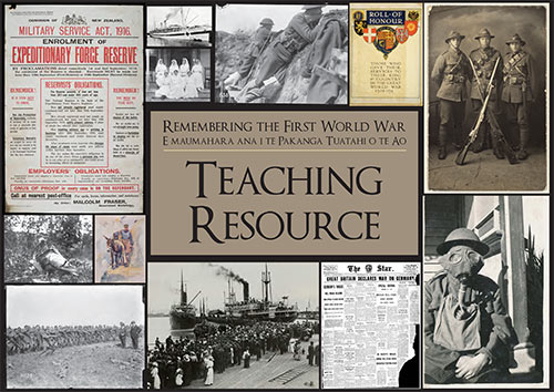 WW1 Teaching Resource cover