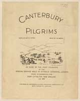 Cover of Canterbury Pilgrims