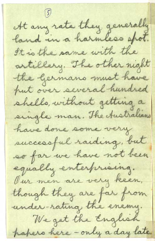 Letter to Hazel from Cecil Malthus, 11 June 1916