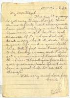 Letter to Hazel, 11 September [1916]