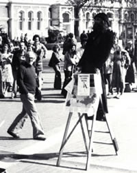 The Wizard in Cathedral Square 1977