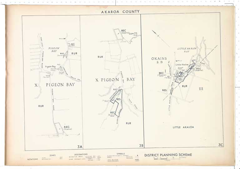 Image of Akaroa County district planning maps