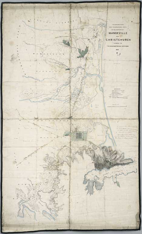 Image of Trigonometrical and topographical survey of the districts of Mandeville and Christchurch