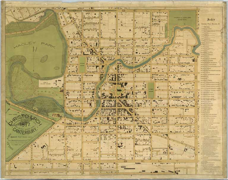 Image of Christchurch, Canterbury