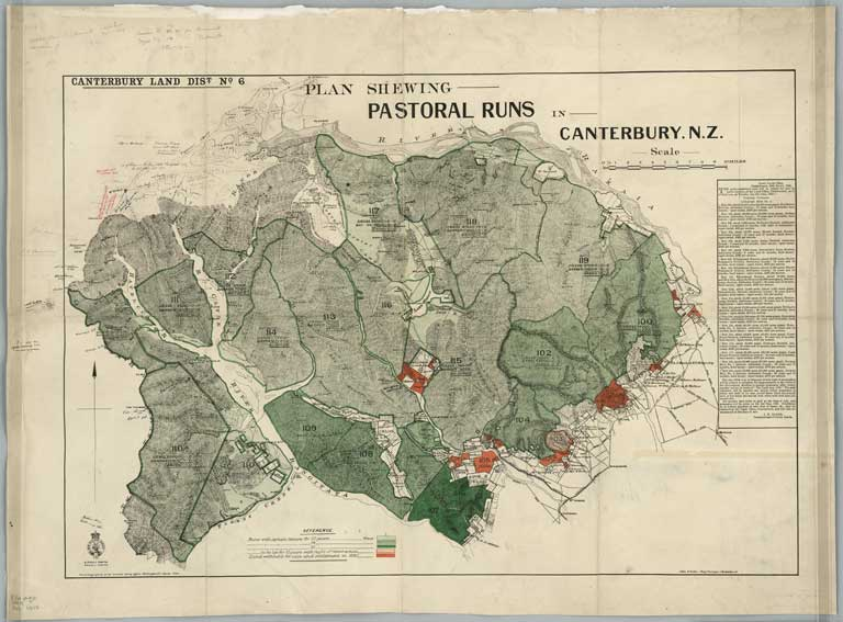 Image of Canterbury Land District. No. 6