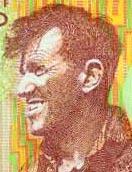 Bank note portrait