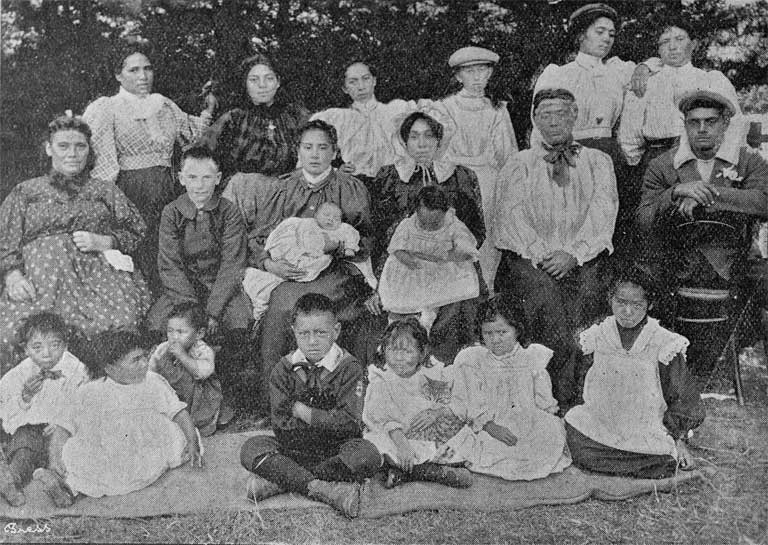 Some of the Maori population [1900] CCL Photo Collection 22, Img00681
