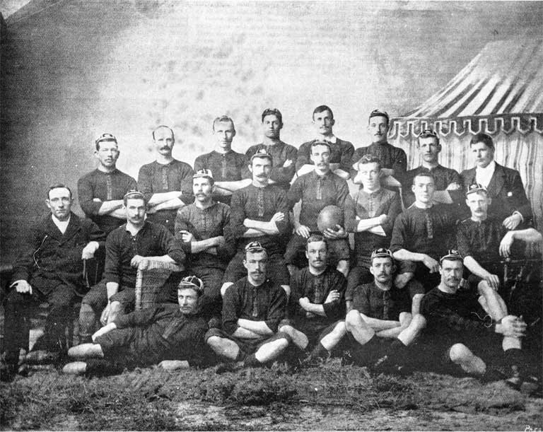 The Canterbury football representatives 1894