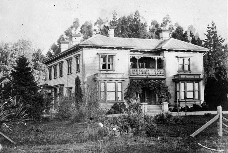 Avon Lodge, Riccarton Road (opposite Konini Street), Christchurch