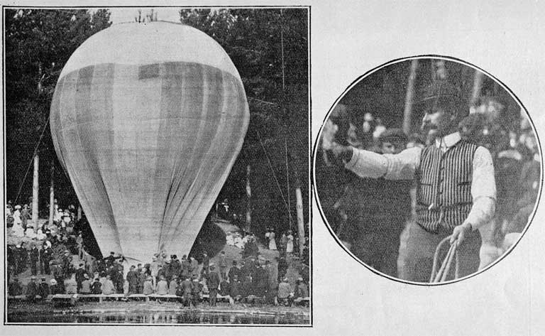 A balloon ascent from Wainoni