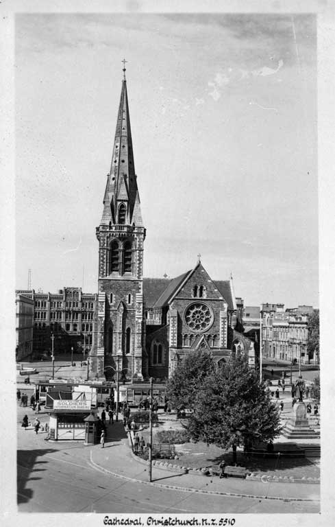 Cathedral Square during World War II (1939-1945)
