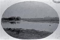 View of Avonside and the Avon River, Christchurch