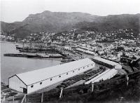 Lyttelton and harbour