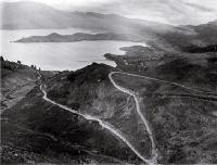 Dyers Pass Road : the Lyttelton Harbour side. [ca. 1920]